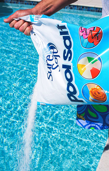 Pool Salt Pour