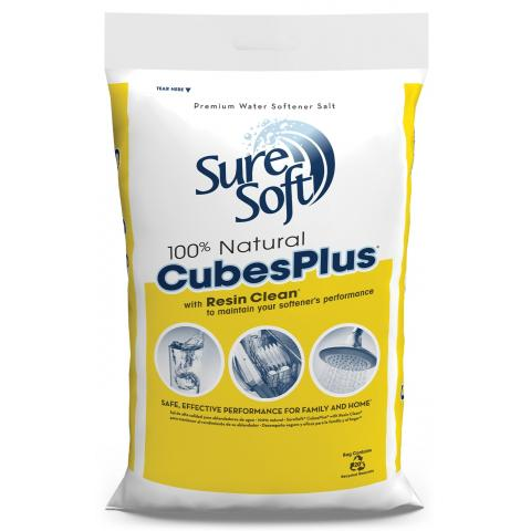 SureSoft® CubesPlus with Resin Clean Bag | SureSoft® Water Softener