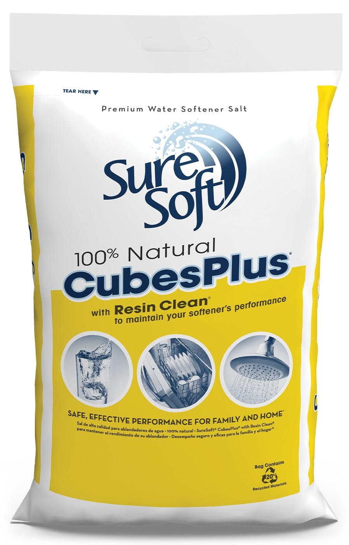 SureSoft® CubesPlus with Resin Clean Bag | SureSoft® Water Softener