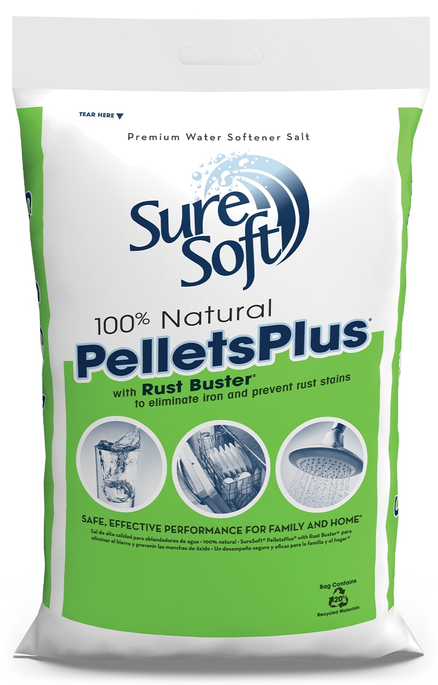 SureSoft® PelletsPlus with Rust Buster Bag | SureSoft® Water Softener